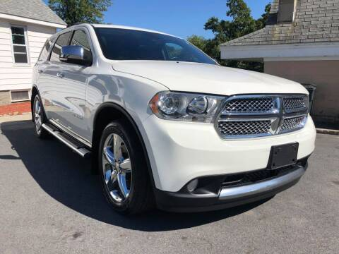 2012 Dodge Durango for sale at Dracut's Car Connection in Methuen MA