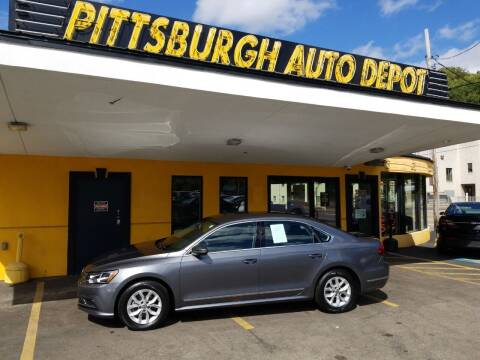 2017 Volkswagen Passat for sale at Pittsburgh Auto Depot in Pittsburgh PA