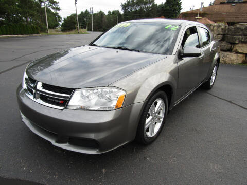 2012 Dodge Avenger for sale at Mike Federwitz Autosports, Inc. in Wisconsin Rapids WI