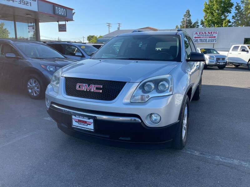 2009 GMC Acadia for sale at Adams Auto Sales in Sacramento CA