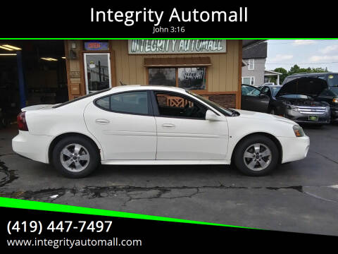 2006 Pontiac Grand Prix for sale at Integrity Automall in Tiffin OH