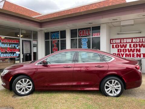 2015 Chrysler 200 for sale at Rock & Roll Motors in Baton Rouge LA