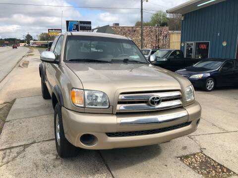 2003 Toyota Tundra for sale at E Motors LLC in Anderson SC