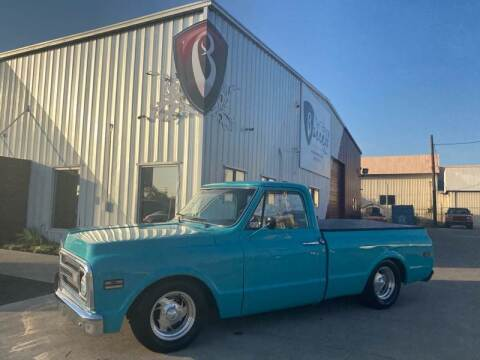 1969 Chevy C10 Single Cab for sale at Barrett Auto Gallery in San Juan TX