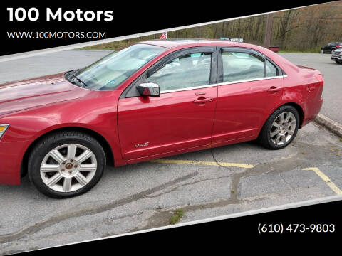 2008 Lincoln MKZ for sale at 100 Motors in Bechtelsville PA