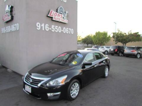 2014 Nissan Altima for sale at LIONS AUTO SALES in Sacramento CA