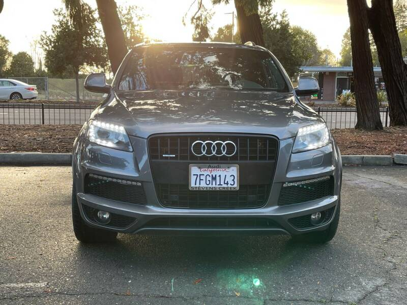 2014 Audi Q7 for sale at CARFORNIA SOLUTIONS in Hayward CA