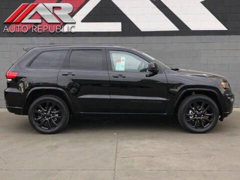 2018 Jeep Grand Cherokee for sale at Auto Republic Fullerton in Fullerton CA