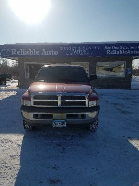 1999 Dodge Ram Pickup 1500 for sale at Reliable Auto in Cannon Falls MN