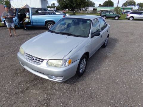 2001 Toyota Corolla for sale at M & M AUTO BROKERS INC in Okeechobee FL