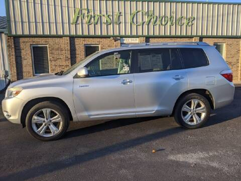2008 Toyota Highlander for sale at First Choice Auto in Greenville SC