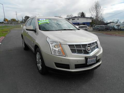 2010 Cadillac SRX for sale at Mountain Auto in Jackson CA