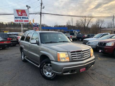 2002 Cadillac Escalade for sale at KB Auto Mall LLC in Akron OH