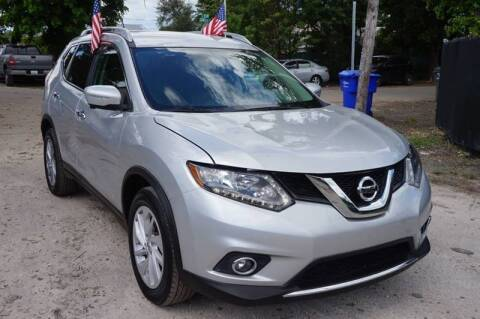 2014 Nissan Rogue for sale at SUPER DEAL MOTORS 441 in Hollywood FL