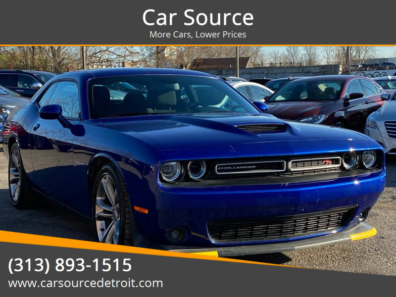 2020 Dodge Challenger for sale at Car Source in Detroit MI