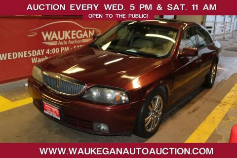 2003 Lincoln LS for sale at Waukegan Auto Auction in Waukegan IL