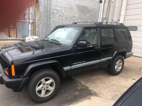 1999 Jeep Cherokee for sale at Debo Bros Auto Sales in Philadelphia PA