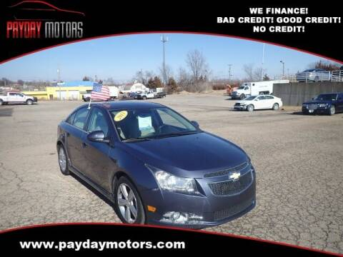 2013 Chevrolet Cruze for sale at Payday Motors in Wichita And Topeka KS