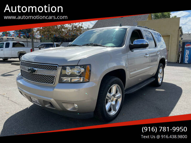 2009 Chevrolet Tahoe for sale at Automotion in Roseville CA