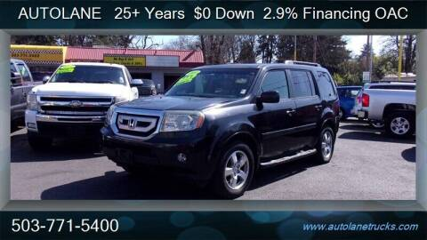 2009 Honda Pilot for sale at Auto Lane in Portland OR