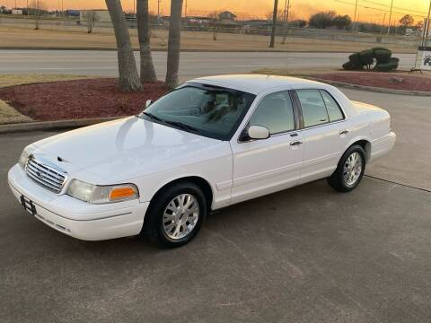 2003 Ford Crown Victoria for sale at M A Affordable Motors in Baytown TX