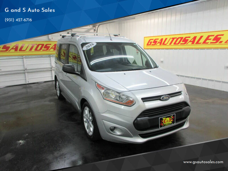 2016 Ford Transit Connect Wagon for sale at G and S Auto Sales in Ardmore TN