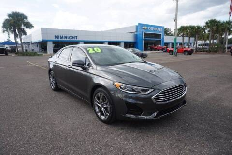 2020 Ford Fusion for sale at WinWithCraig.com in Jacksonville FL