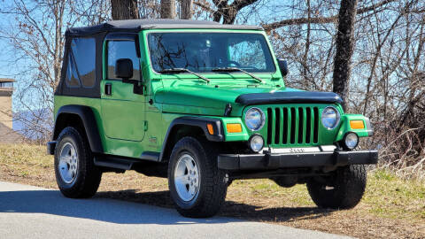 2004 Jeep Wrangler for sale at Rare Exotic Vehicles in Asheville NC