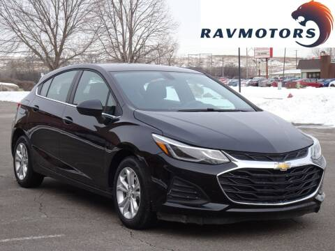 2019 Chevrolet Cruze for sale at RAVMOTORS in Burnsville MN