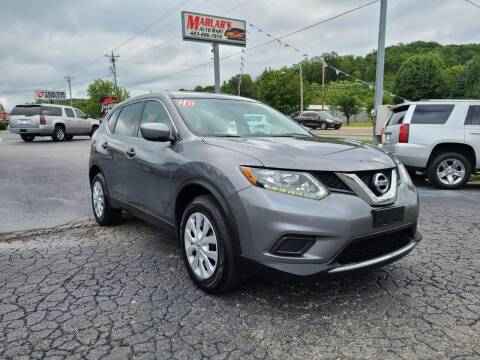 2016 Nissan Rogue for sale at MARLAR AUTO MART SOUTH in Oneida TN