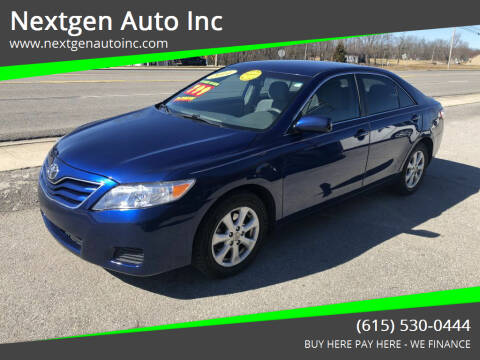 2011 Toyota Camry for sale at Nextgen Auto Inc in Smithville TN