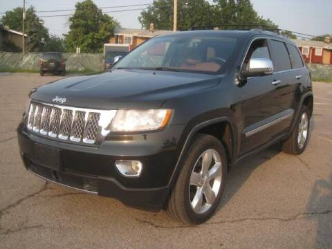 2012 Jeep Grand Cherokee for sale at ELITE AUTOMOTIVE in Euclid OH