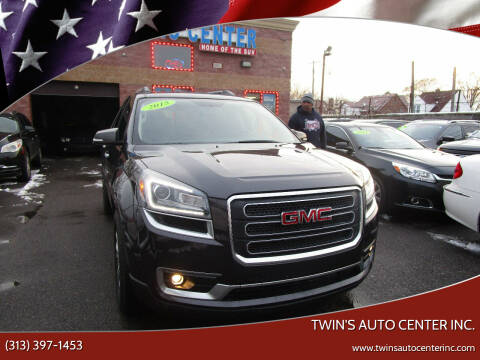 2015 GMC Acadia for sale at Twin's Auto Center Inc. in Detroit MI