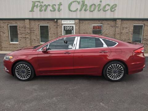 2017 Ford Fusion for sale at First Choice Auto in Greenville SC