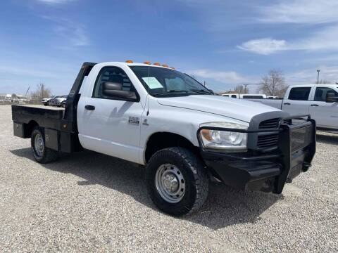 2007 Dodge Ram Chassis 3500 for sale at BERKENKOTTER MOTORS in Brighton CO