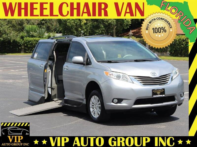 2013 Toyota Sienna for sale at VIP Auto Group in Clearwater FL