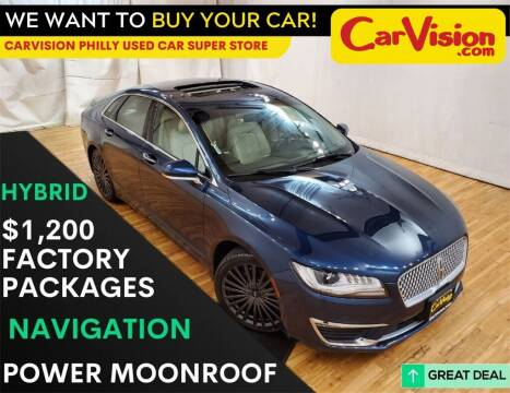 2017 Lincoln MKZ Hybrid for sale at Car Vision Mitsubishi Norristown - Car Vision Philly Used Car SuperStore in Philadelphia PA