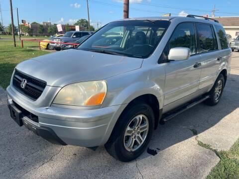 2005 Honda Pilot for sale at Texas Select Autos LLC in Mckinney TX