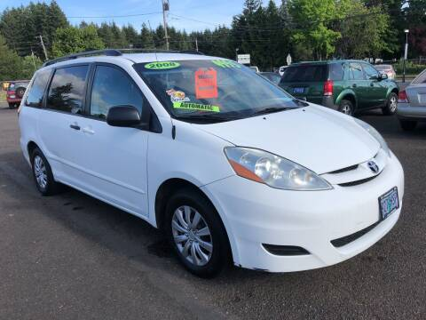 2008 Toyota Sienna for sale at Freeborn Motors in Lafayette, OR