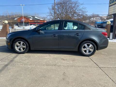 2013 Chevrolet Cruze for sale at RIVERSIDE AUTO SALES in Sioux City IA