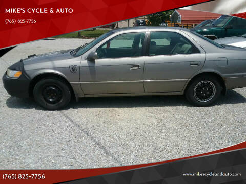 1999 Toyota Camry for sale at MIKE'S CYCLE & AUTO in Connersville IN