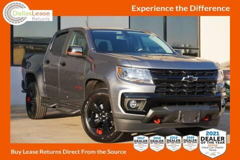 2021 Chevrolet Colorado for sale at Dallas Auto Finance in Dallas TX