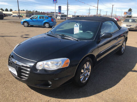 2006 Chrysler Sebring for sale at BARNES AUTO SALES in Mandan ND