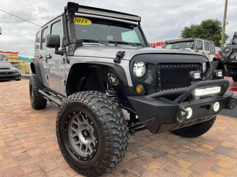 2018 Jeep Wrangler JK Unlimited for sale at Cars of Tampa in Tampa FL