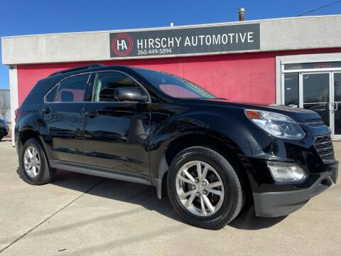 2016 Chevrolet Equinox for sale at Hirschy Automotive in Fort Wayne IN