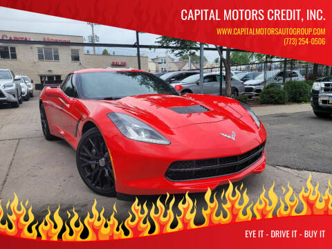 2014 Chevrolet Corvette for sale at Capital Motors Credit, Inc. in Chicago IL