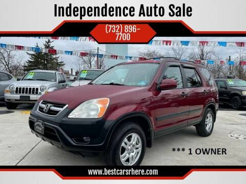 2004 Honda CR-V for sale at Independence Auto Sale in Bordentown NJ