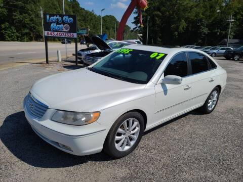 2007 Hyundai Azera for sale at Let's Go Auto in Florence SC