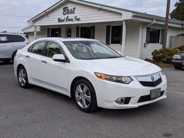 2012 Acura TSX for sale at Best Used Cars Inc in Mount Olive NC
