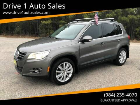 2010 Volkswagen Tiguan for sale at Drive 1 Auto Sales in Wake Forest NC